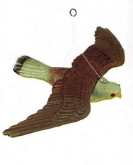 Fake Flying Falcon Plastic Bird Scarer